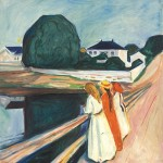 Munch Painting at Tate Gallery